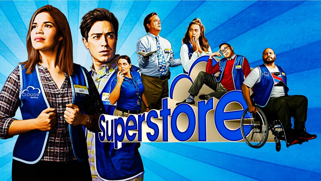 Superstore NBC Promotional Graphic