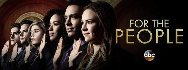 """For the People"" season-opener, 10 p.m., ABC."