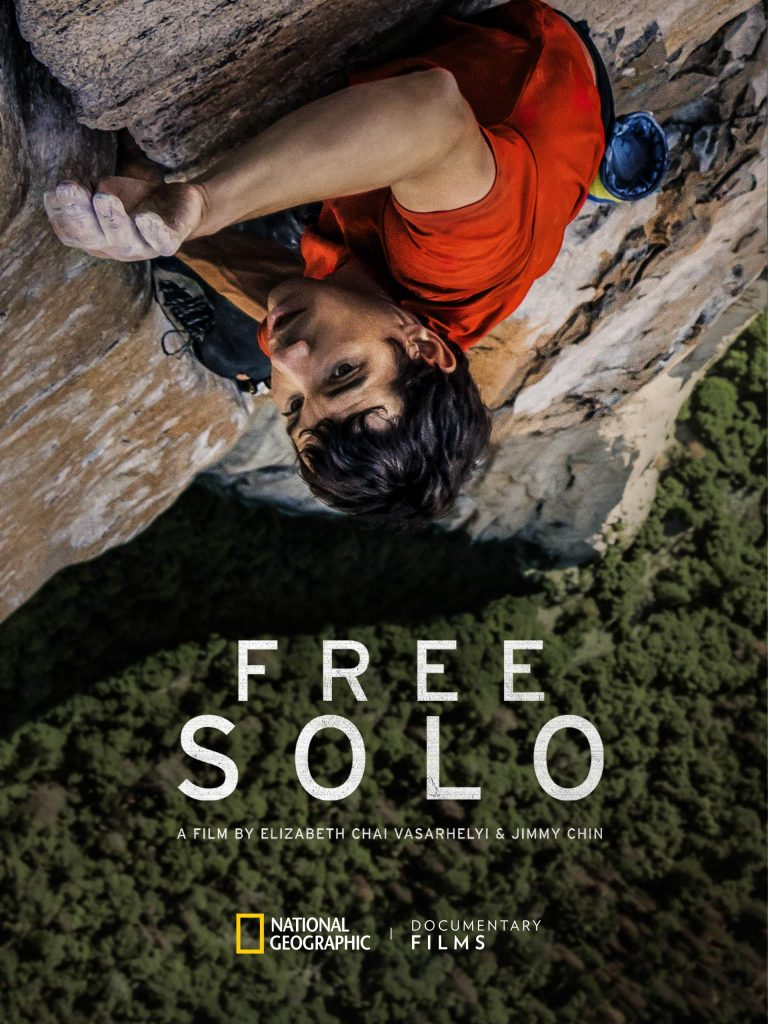 """Free Solo"" does it all — a daring climb and a loner love story"
