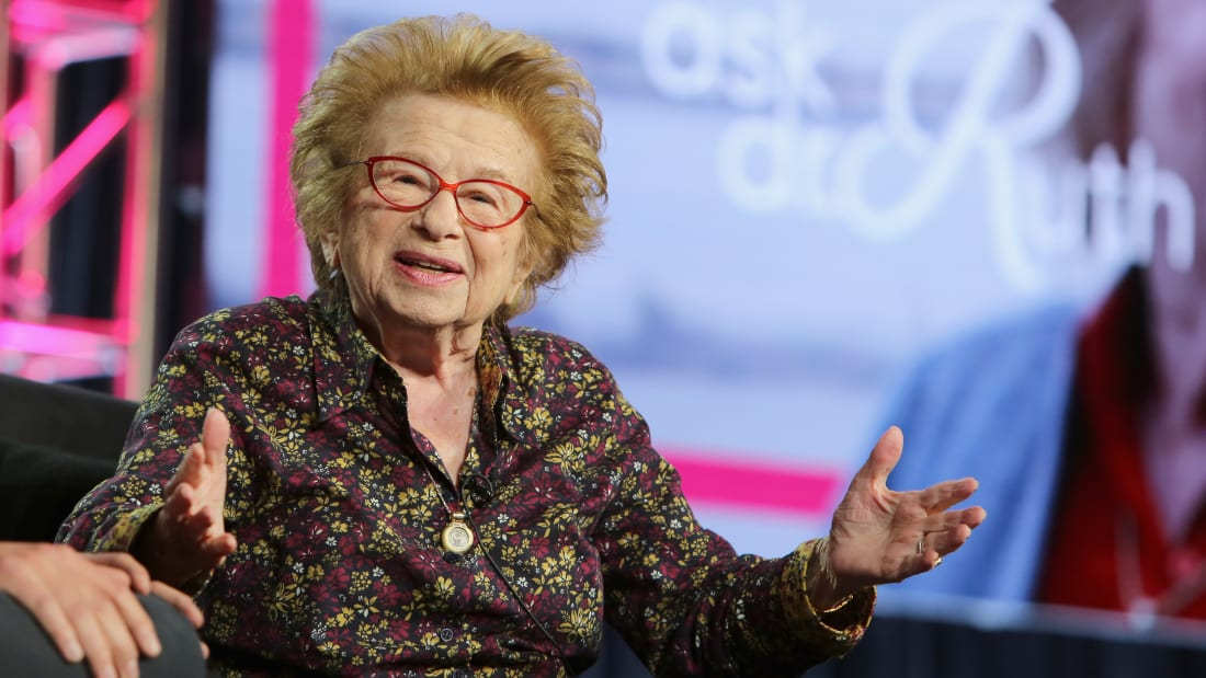 Dr. Ruth: A genial pixie emerged from cascades of tragedy