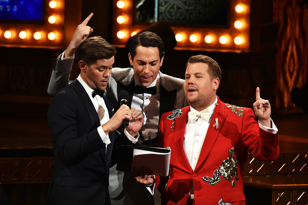 Corden hosting the Tonys: A return to his triumph