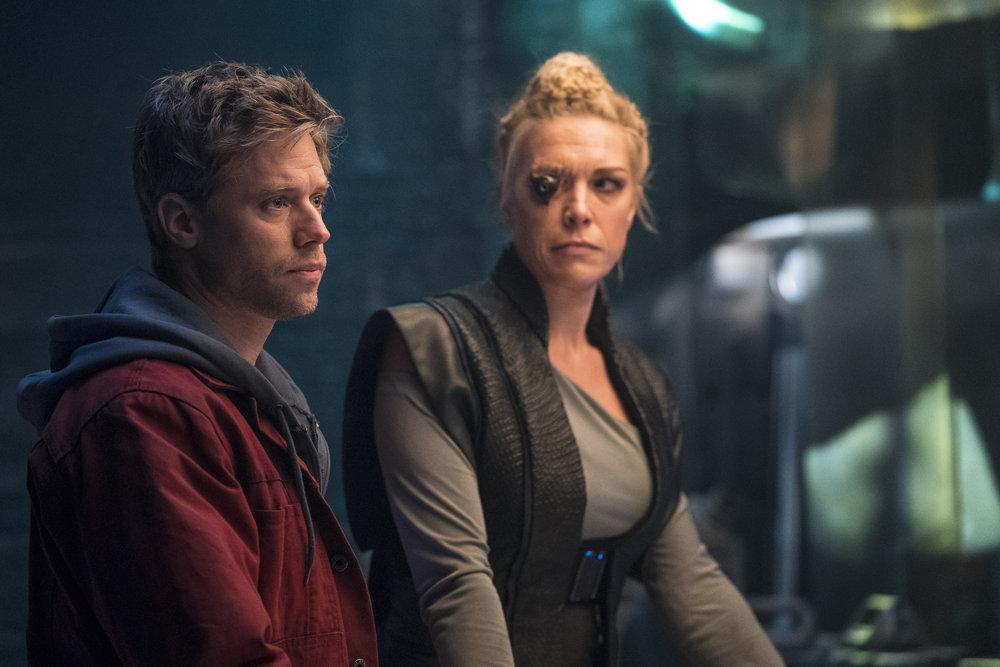 "A Strange hero saves a strangely tangled ""Krypton"""