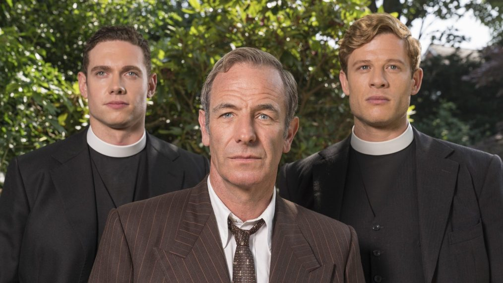 "Now ""Grantchester"" has its rock 'n' roll, crimesolving preacher"