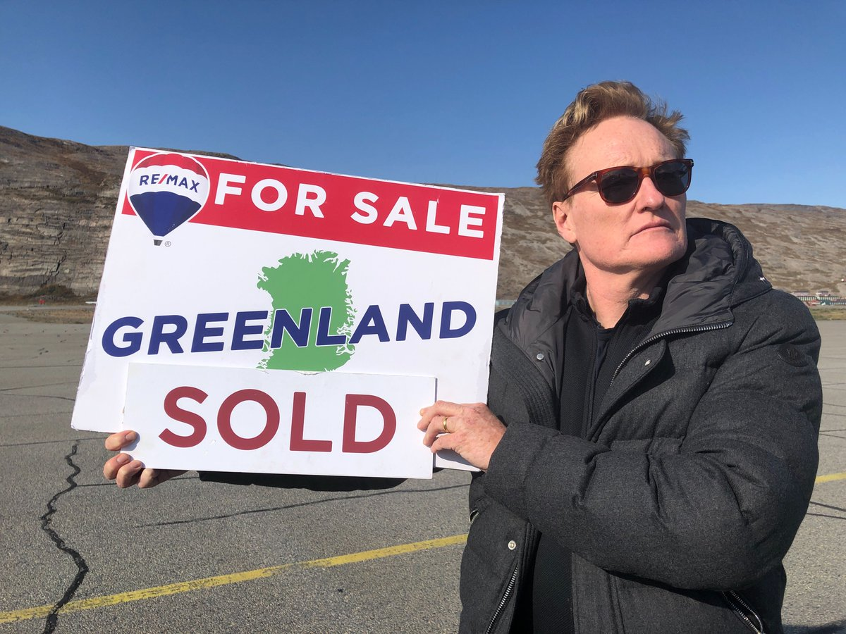 What to know before Conan buys Greenland