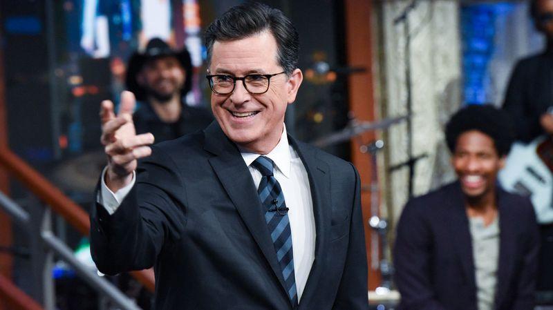 CBS extends Colbert amid 'Trump bump'
