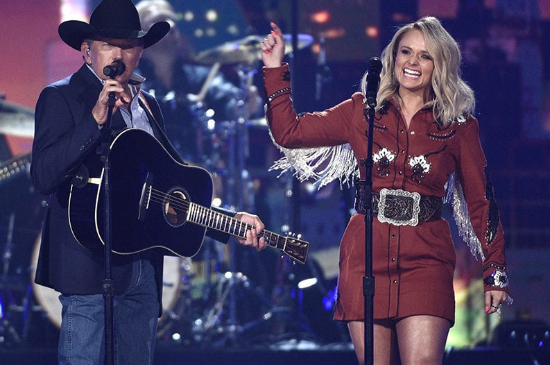 Country-music finds a socially-distant show