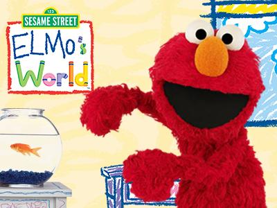 Elmo wants to brighten the crisis