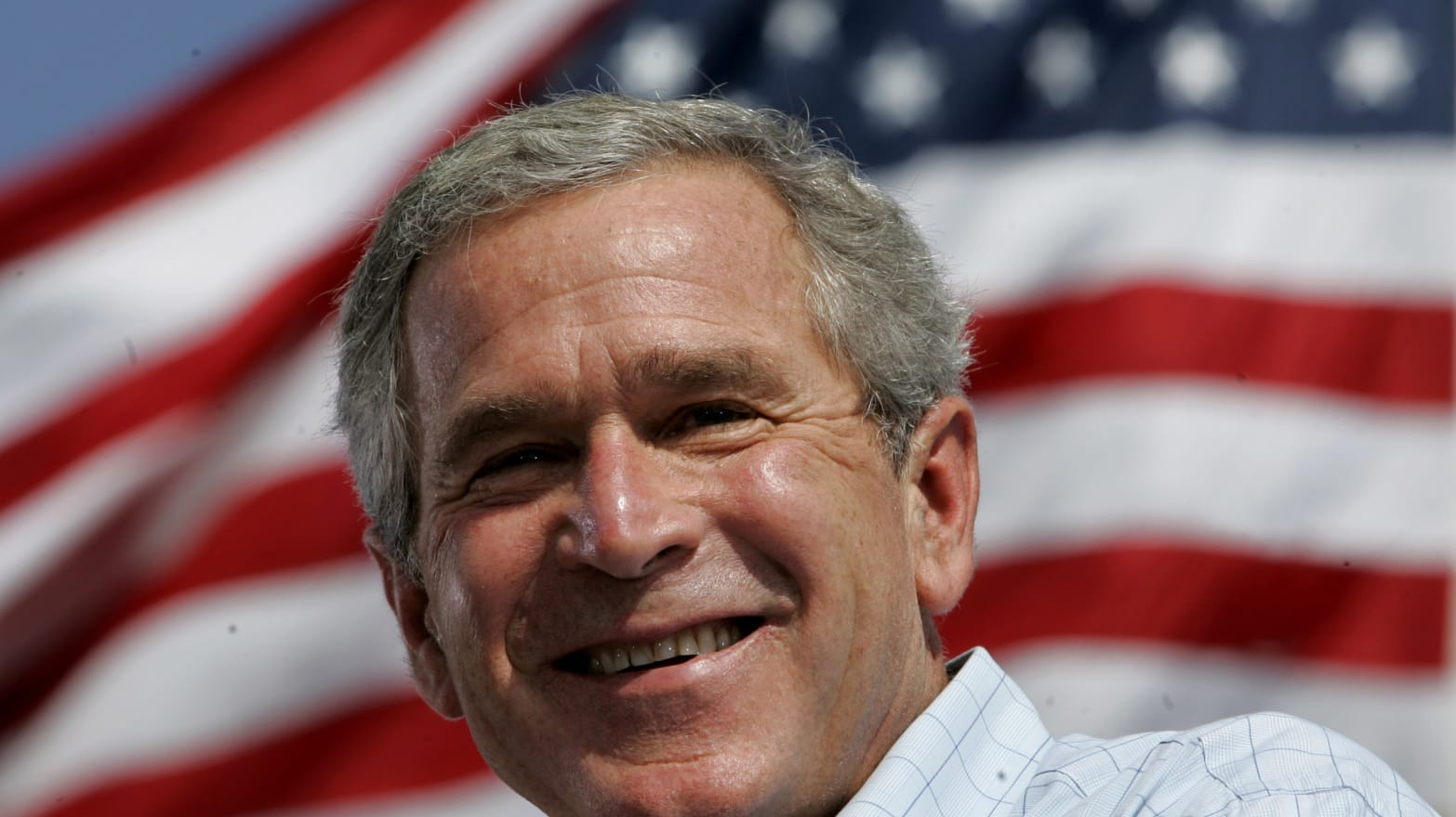 Bush profile: A cheerleader turns presidential