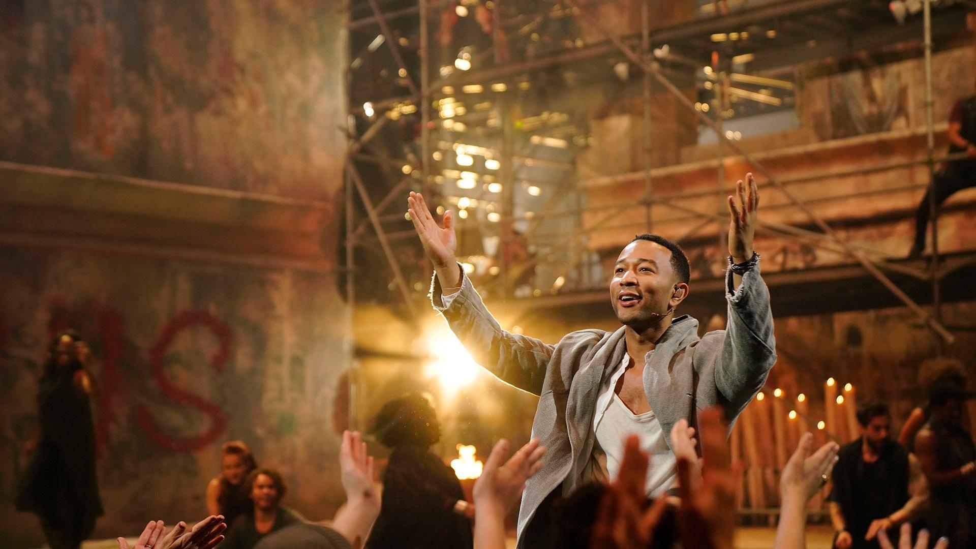 "Easter TV: ""Superstar,"" gospel, epics and more"