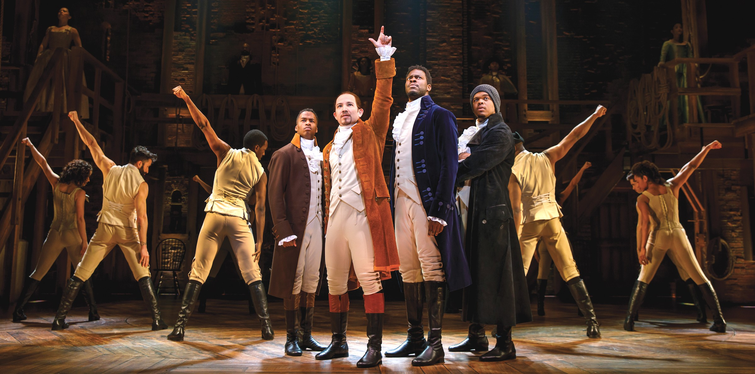 """Hamilton"" streams a year early"
