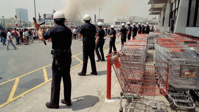 TV looks (again) at the 1992 riots