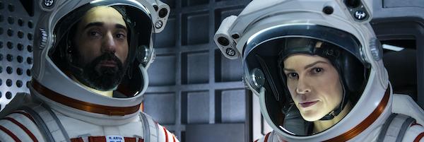 Swank's century: Seething in jail, soaring in space
