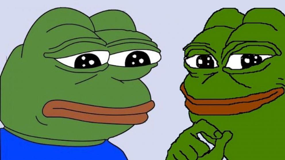 Fun-loving Pepe a symbol of hate? Not on purpose