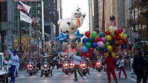 Week's top-10 for Nov. 23: Parade, cartoons and lotsa football