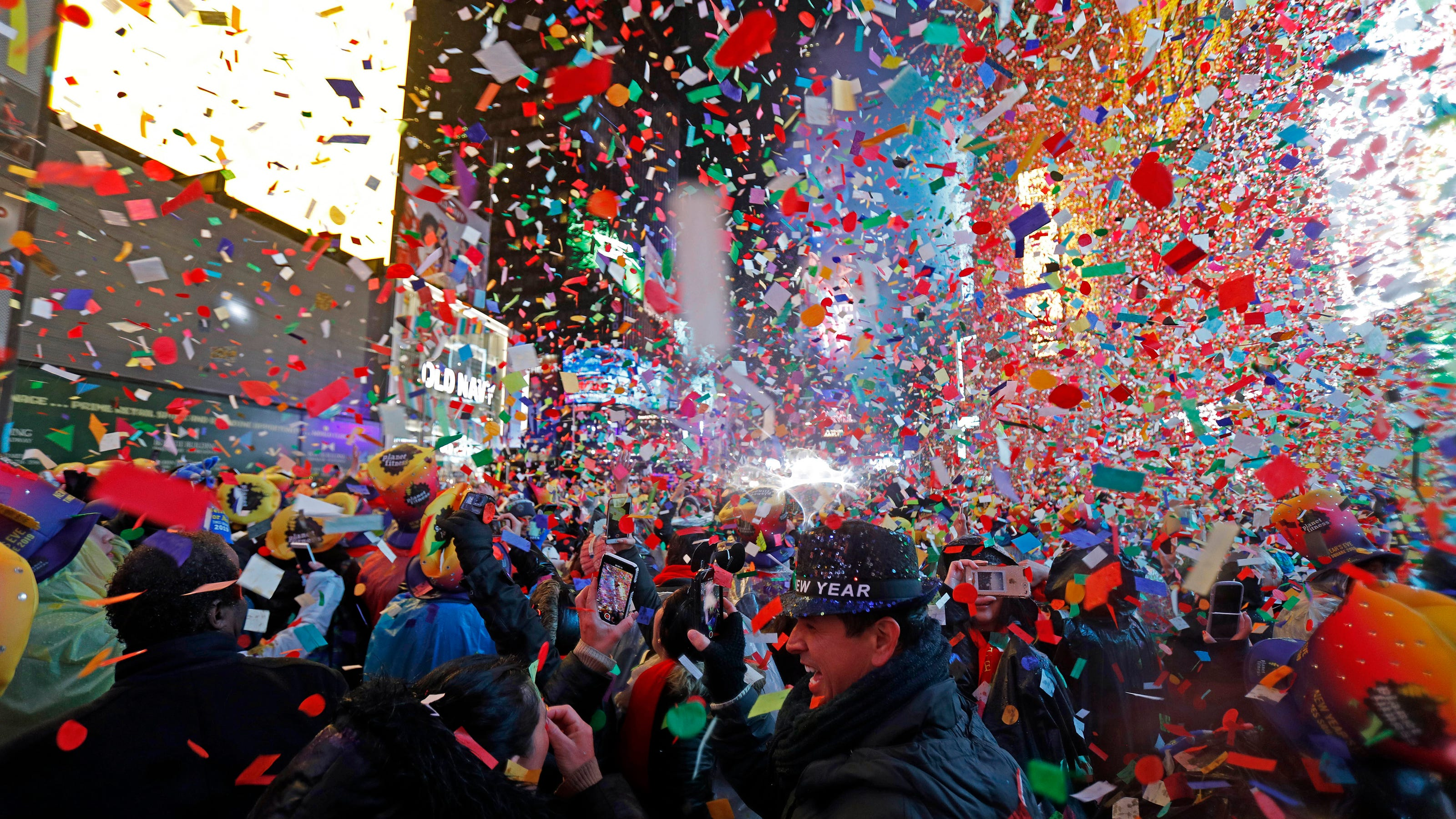 A stay-at-home New Year's Eve? TV is ready