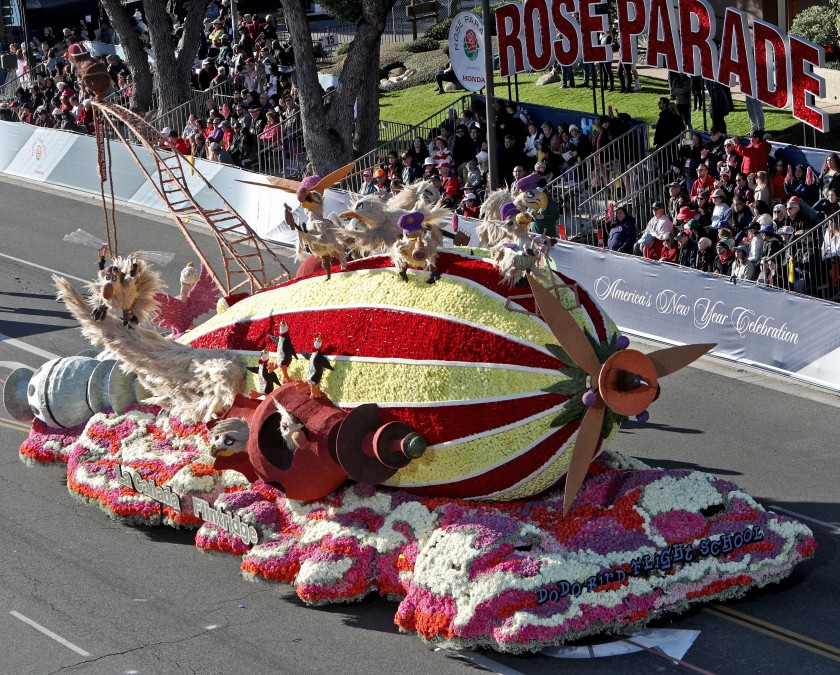 Best-bets for Jan. 1: past parades and current bowls