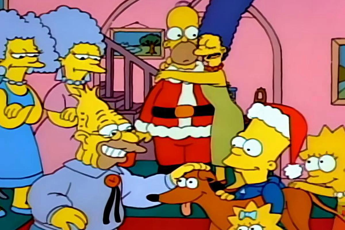 """It's Christmas again, for the 700th """"Simpsons"""""""